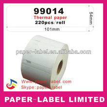 Dymo compatible Labels 99014, 101x54mm,Address labels,220 labels per roll thermal labels Direct print