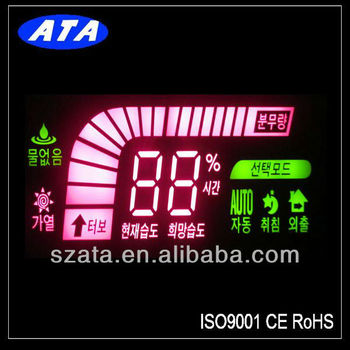 Custom LED Display FND 7 Segment for Humidifier CE&RoHS