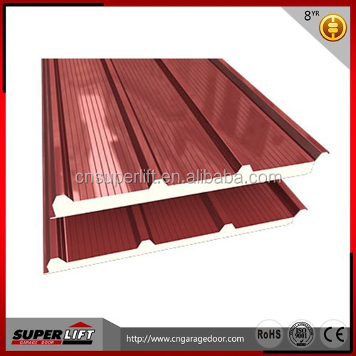 thermal insulation wall panel/PU sandwich roof panel