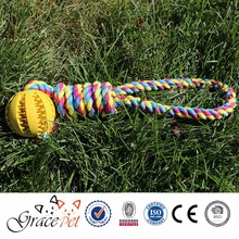[Grace Pet] Factory Price Colorful Online Pet Shops Soft Rope Dog Toys for Dogs