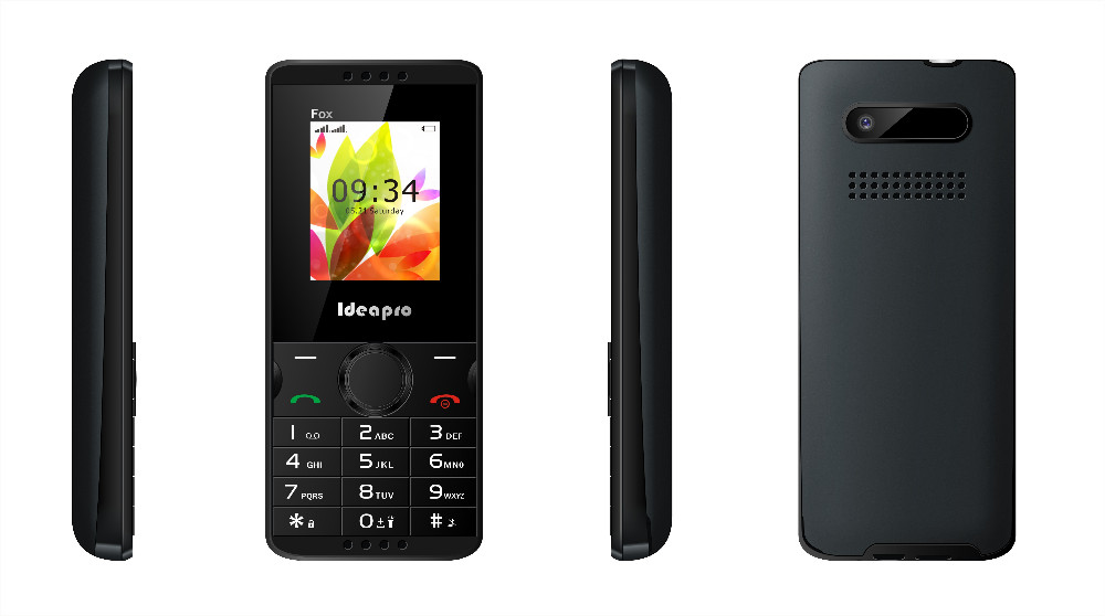 Cheap Mobile Phone OEM 1.77 inch 128*160 Spreadtrum(32+32) Dual SIM Phone Ideapro Fox