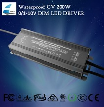 12v transformer 230v outdoor 200w waterproof led 0-10v driver