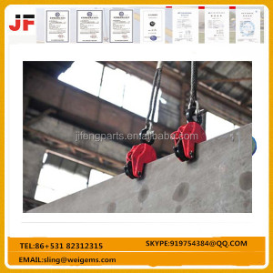 Forged steel plate lifting clamp, (1--10T)