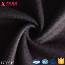 T700019 top quality 100%merion wool double face brushed fleece heavy woolen coat fabric