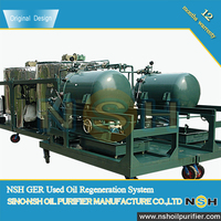 NSH Waste Engine Oil Purifier/Filtration/Recycling/Treatment/Regeneration/Processing Plant