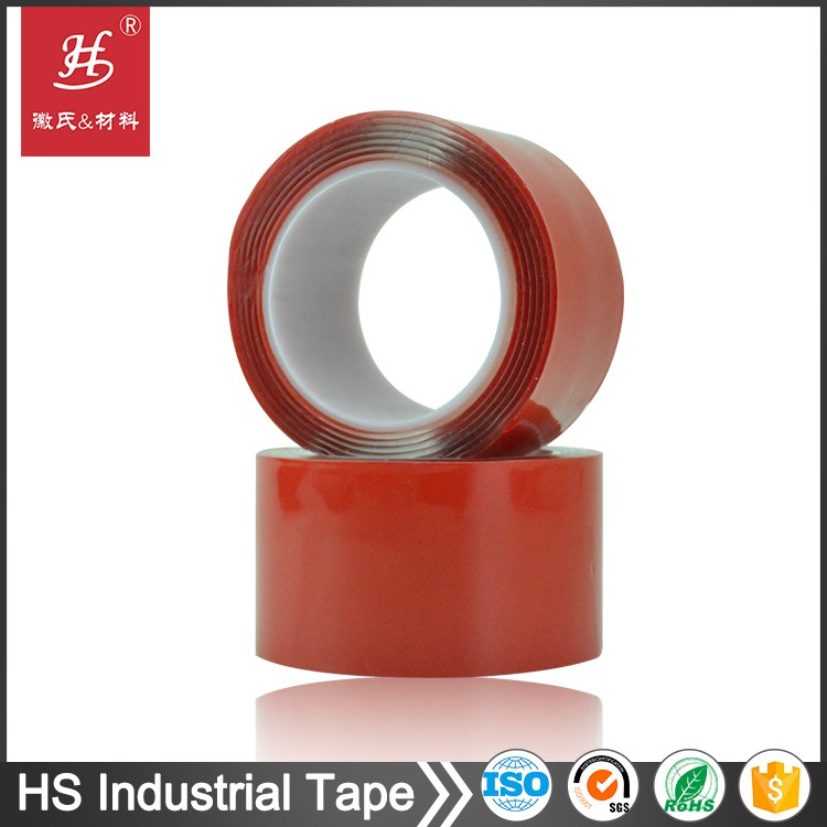 ROHS SGS certificates high adhesion tissue polyester foam VHB thermal conductive transfer double side adhesive tape