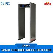 3d Full Body scanner walk through metal detectors with 4 sides LED Light