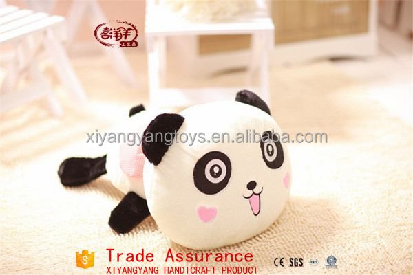 factory manufacturers wholesale most popular new lie prone on the panda/The panda doll pillow plush toys