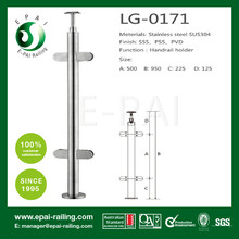 outdoor/indoor stainless steel railing baluster for staircase