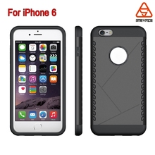 BiaoxinTPU +PC Mobile Phone Case for Iphone 6 shield case ,PC+TPU Shield case for iphone 6 cover