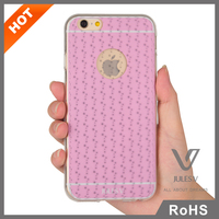 JULES.V 3D Sublimation Crystal Soft Pink TPU Case for iPhone 6 custom phone cover
