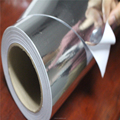indoor metallized satin finsih film