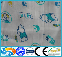 Pre-washed 100% cotton muslin swaddles soft single layer muslin blanket