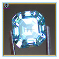 Lovely Blue square shaped Cubic Zirconia Stones