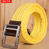 New Fashion Girl Canvas Belt With