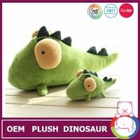 Unique design green big eyes cute dinosaur toys
