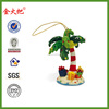 Promotional Resin custom made christmas ornaments
