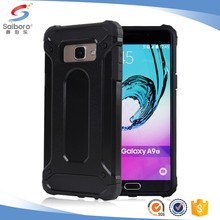 Hot selling customized black rugger phone cover case for samsung galaxy a9 a9 pro case