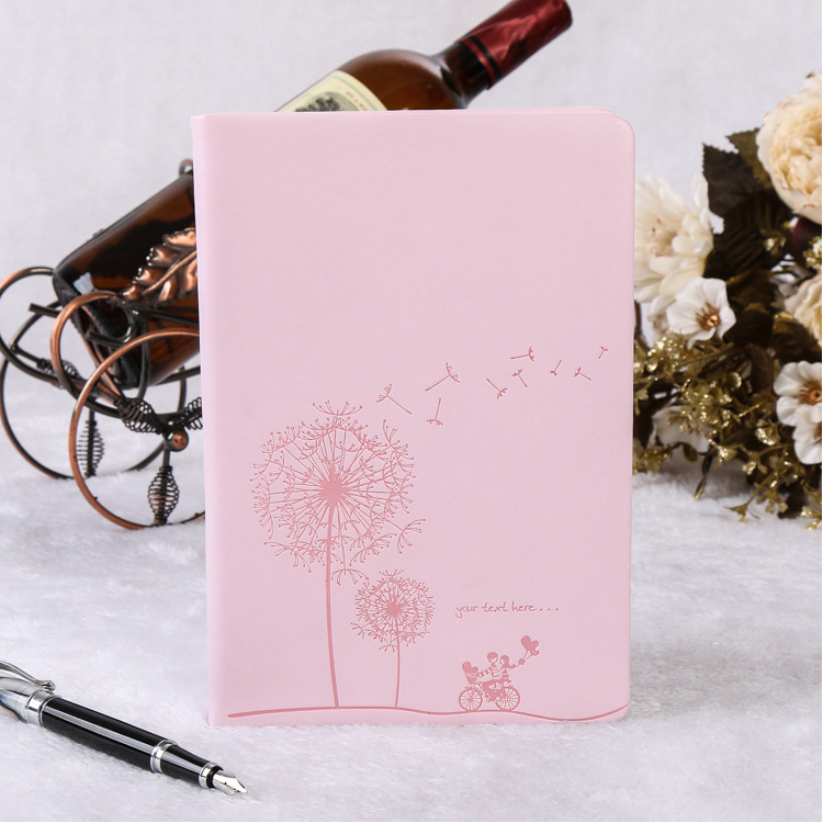 custom cheap personalized PU leather agenda diary journal notebook a5