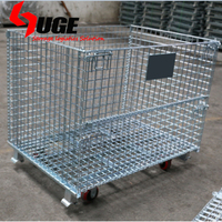 heavy duty industrial auto parts wire storage basket/box