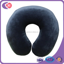 Best quality soft cover memory foam travel neck pillow