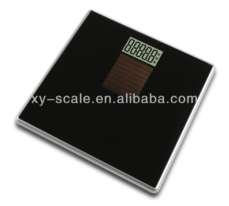 OEM personal glass top wireless sensor body fat digital scale