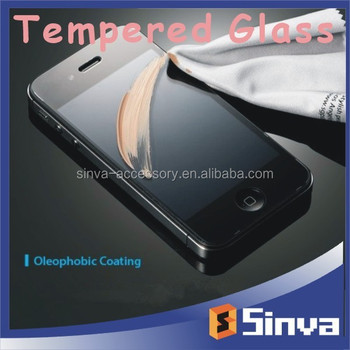 Factory Low Price Mirror tempered glass screen protector for iphone6 Wholesale on alibaba