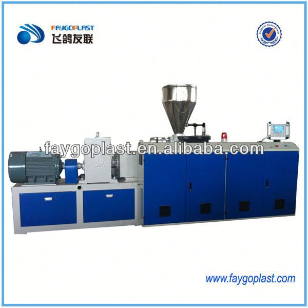 plastic extruder for wire sheathing mac