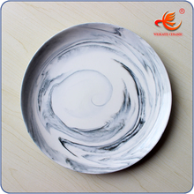 New fashionable stylish porcelain food divider plate for wholesale