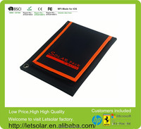 2014 hot sell factory price 7W solar panel mobile power supply solar charger case for ipad mini