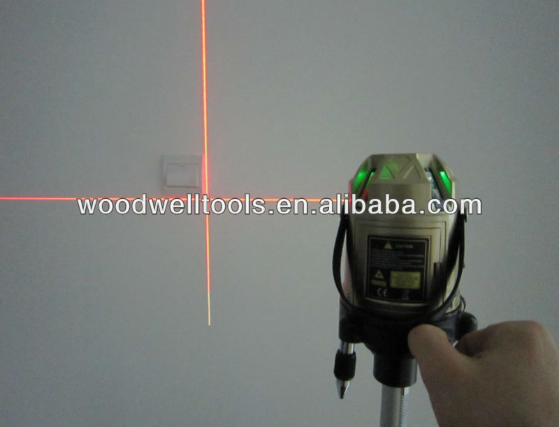 rotating laser level 5 lines red line,construction laser level