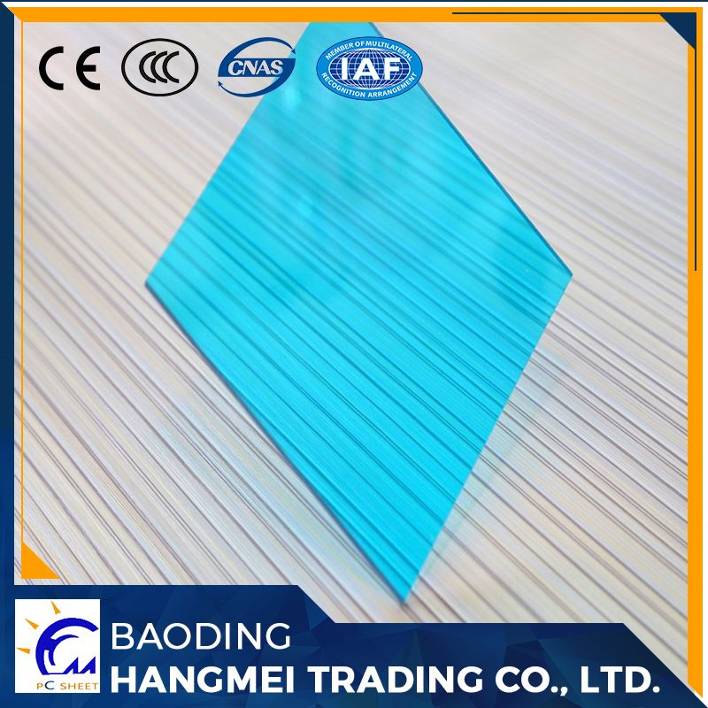 Colorful excellent light barn roofing material solid polycarbonate sheet