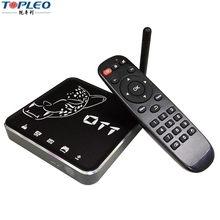 Home TV Received DVB Internet Google Media Box Android 6.0.1 smart tv box T12 2G 16G