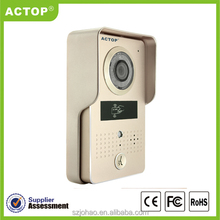 ACTOP 2016 new products Mobile control night vision ID keypad video door phone ip