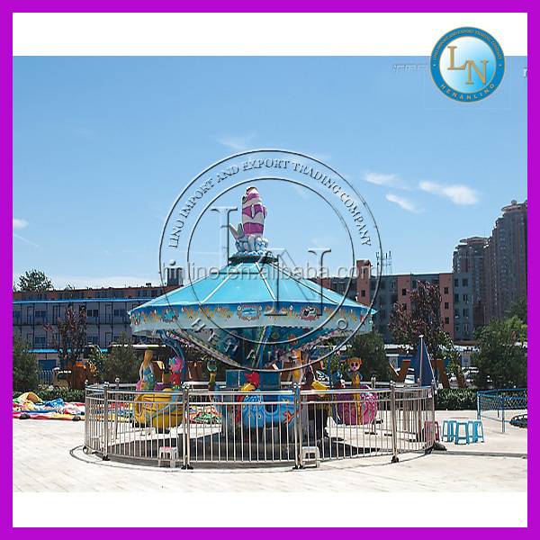 Mini cheap rides !rotary amusement park carnival games for kids