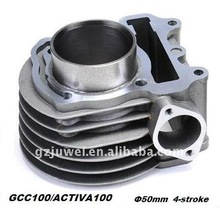 C100 motorcycle cylinder block