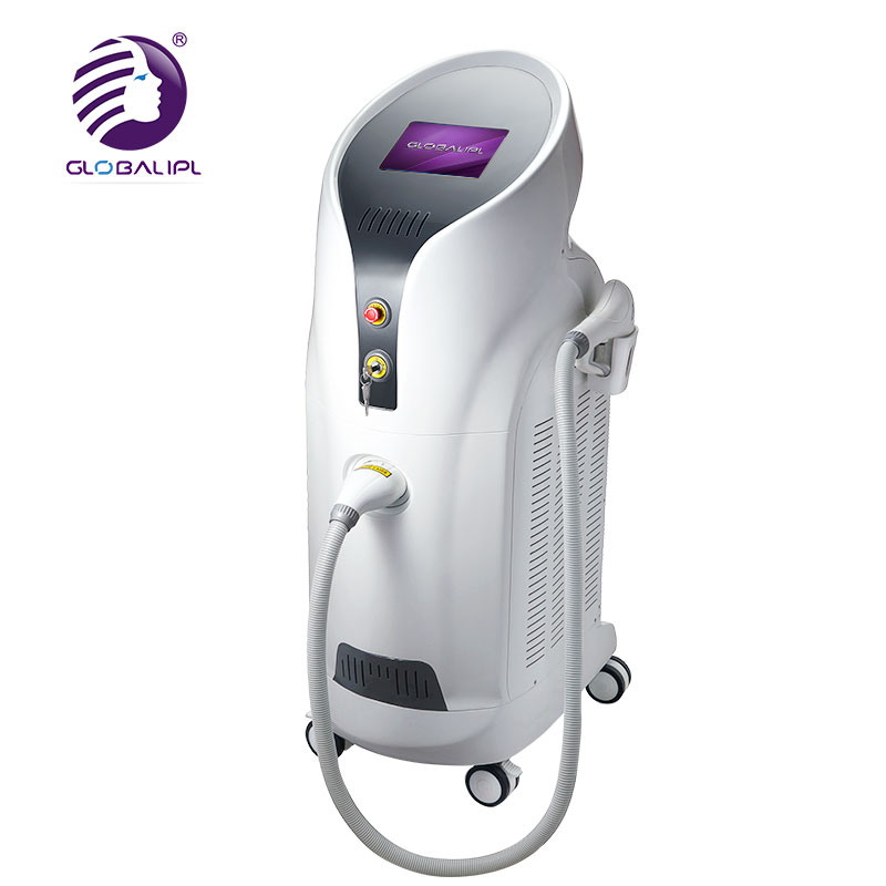 Comfortable painless black hair removal painless lip hair removal 808nm diode laser for clinic use