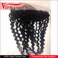 Vipsister Hair Free Part 13X4 Indian curly Lace Frontal closure piece