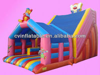 inflatable space jump castle,inflatable combo jumping castle
