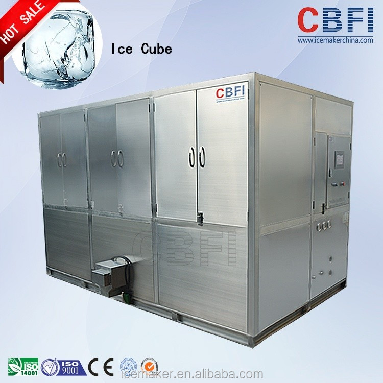 Commercial Cube Ice Making Business For Food And Beverage