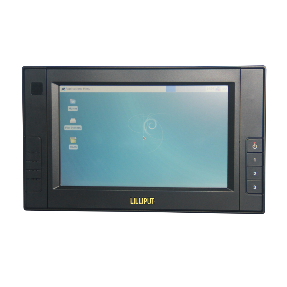 "Lilliput 7"" 450 Brightness Supporting Display Mobile Data Terminal Pad Vehicle Navigation Systems"
