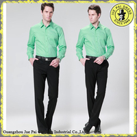 Fitted Top Brand Man Bulk Solid Dress Shirts