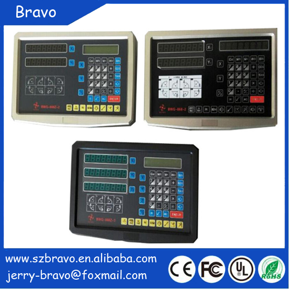 Factory price digital readout DRO display with high precision optical linear scale