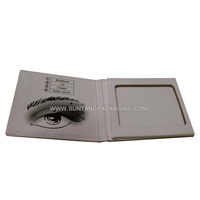 Custom Clamshell Paper Makeup Packaging Box