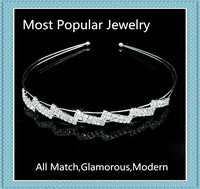 Most Popular Jewelry All Match Craft Crystal Simple Hair Clasp