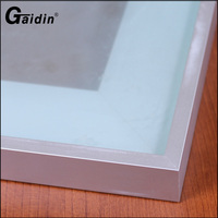 Custom Kitchen Cabinet Aluminum Frame Glass