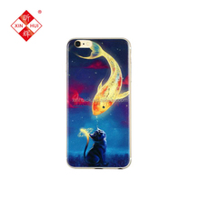 Anime Style Custom Universal Silicone Phone Case For Apple iPhone
