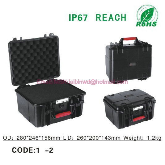 Free Shipping IP67 Waterproof Camera Protective <strong>Hard</strong> Plastic Waterproof Carrying <strong>Case</strong>