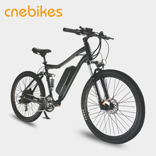 "27.5"" Full Suspension Electric Mountain E bike 48V 500W"