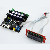 AK4490 + AK4118 four channel input DAC decoder board With fiber coaxial USB (to add USB daughter card) analog four inputs